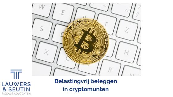 Belastingvrij beleggen in cryptomunten