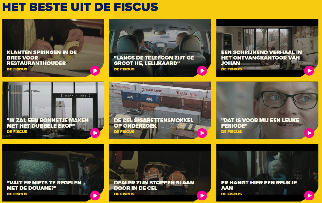 De Fiscus docureeks reality